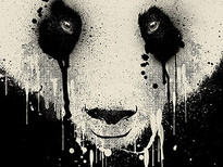 PANDA DRIP T-Shirt Design by