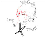 Live is x theme by dhanya