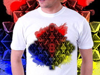 Tri Cluster T-Shirt Design by