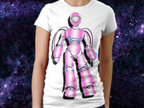 2 Dimensional Space T-Shirt Design by