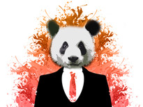 Panda mafia T-Shirt Design by