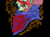 The queen zombie T-Shirt Design by