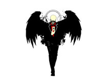 black angel T-Shirt Design by