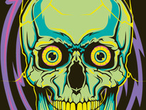 skull T-Shirt Design by
