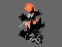 Life of a samurai T-Shirt Design by