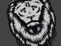 Sad Lion T-Shirt Design by