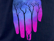 Natural hand T-Shirt Design by