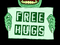 free hugs T-Shirt Design by