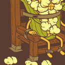clingcling wearing Corn Executions by ben6835