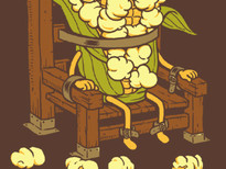 Corn Executions T-Shirt Design by