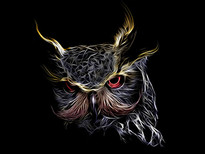 Owlfather T-Shirt Design by