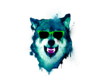 Tamed Wolf T-Shirt Design by
