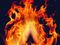 Digital Fire T-Shirt Design by