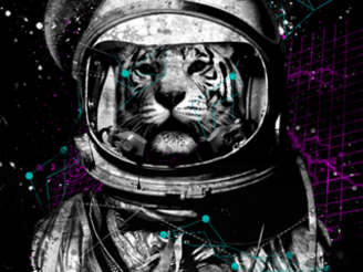 Space Lion by blackplanet