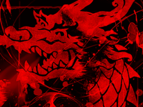 -=Red Dragon=- T-Shirt Design by