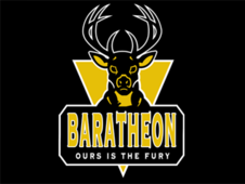 House Baratheon Team Logo T-Shirt Design by