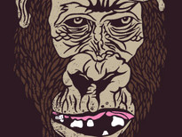 Gorilla Warfare T-Shirt Design by
