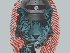 GENERAL TIGER T-Shirt Design by