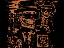 Agents Bones & Skully T-Shirt Design by