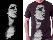 Lady Face T-Shirt Design by