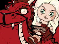 Mother of Dragons T-Shirt Design by