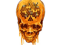 Yellow Skull T-Shirt Design by