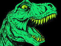 dinosaur T-Shirt Design by