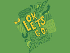 Ok Lets Go! T-Shirt Design by