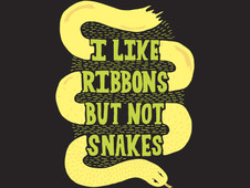 I Like Ribbons T-Shirt Design by
