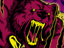 Bear Attack!! T-Shirt Design by