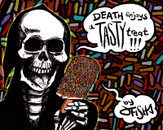 Death enjoys a Tasty Treat by jfish