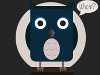 Grammar Owl T-Shirt Design by