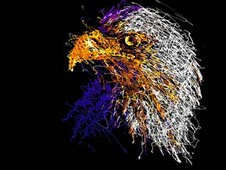 """eagle"" T-Shirt Design by"