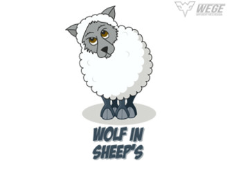 wolf in sheep's clothing by syguitara