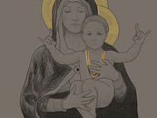 Madonna and Child by asher2789
