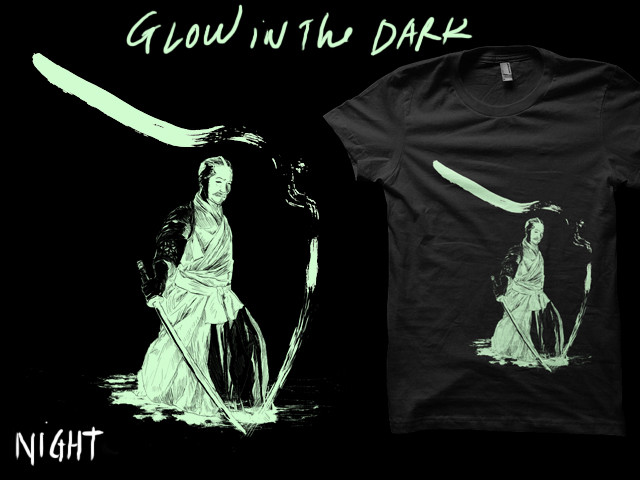 ink kata - glow in the dark
