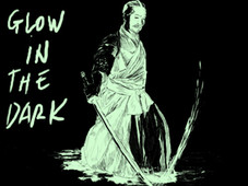 ink kata - glow in the dark T-Shirt Design by