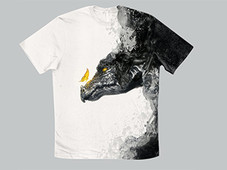 The Dragon T-Shirt Design by