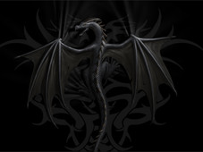 The Curse of the Black Dragon T-Shirt Design by