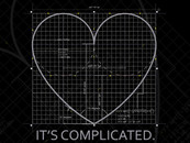"DotDotDottshirts wearing ""It's complicated."" by Klayman"