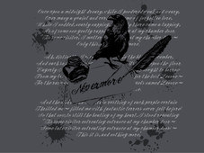 Nevermore T-Shirt Design by