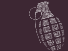 Grenade T-Shirt Design by