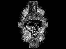 PRISON SKULL T-Shirt Design by