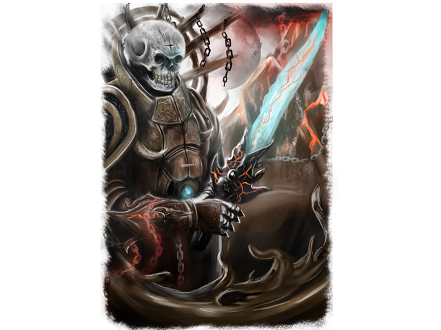 Skull Head Warrior