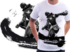 INK MONK T-Shirt Design by