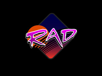 The Rad Tee by lab8zero
