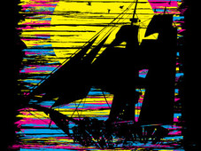 Sail CMYK T-Shirt Design by