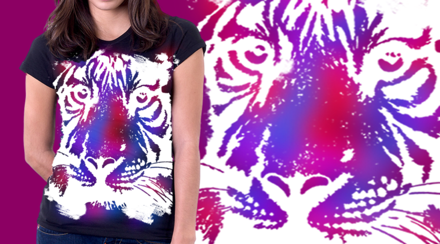 Purpled Tiger