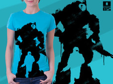 Titan's Fall T-Shirt Design by