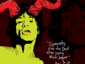 Sympathy for the Devil by young Mick Jagger by jonijontor